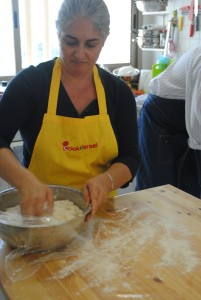 cooking in Israel, challh bread